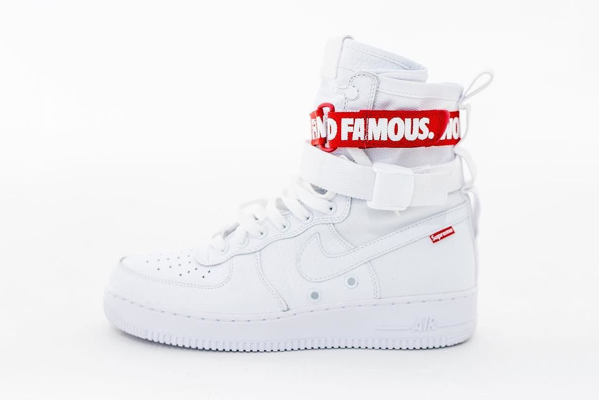 What If Supreme X Nike 聯名 Sf Af1 鞋款 Hype Shoes Nike Sneakers
