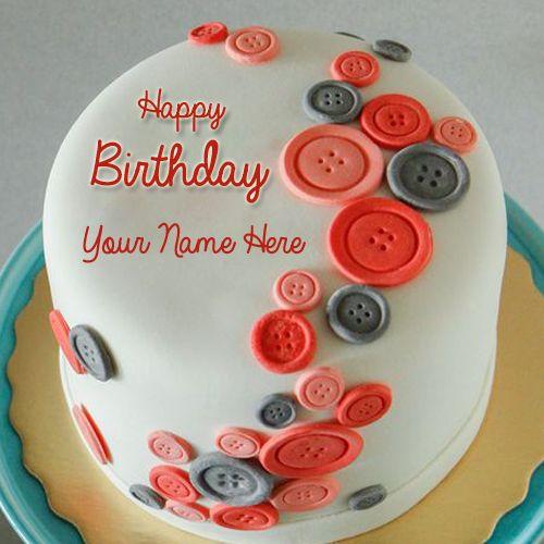 Happy Birthday Wishes Creative Designer Cake With Name