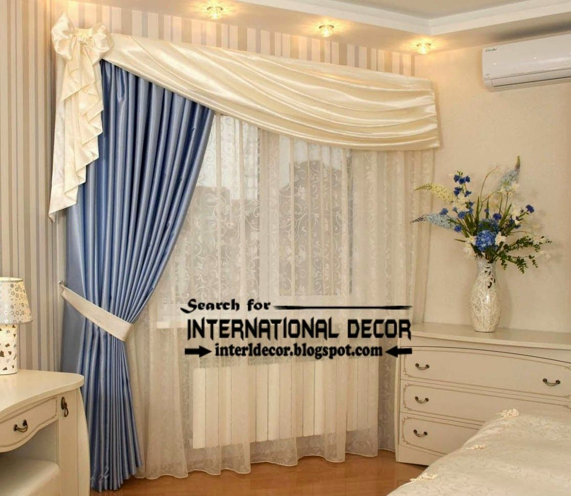 Blue bedroom curtain ideas - Blue Curtains For Bedroom 10 Best Images About Windows On Pinterest Stylish Bedroom Design And