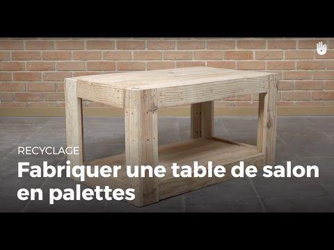 Fabriquer un salon de jardin en bois, tutoriel bricolage - YouTube ...