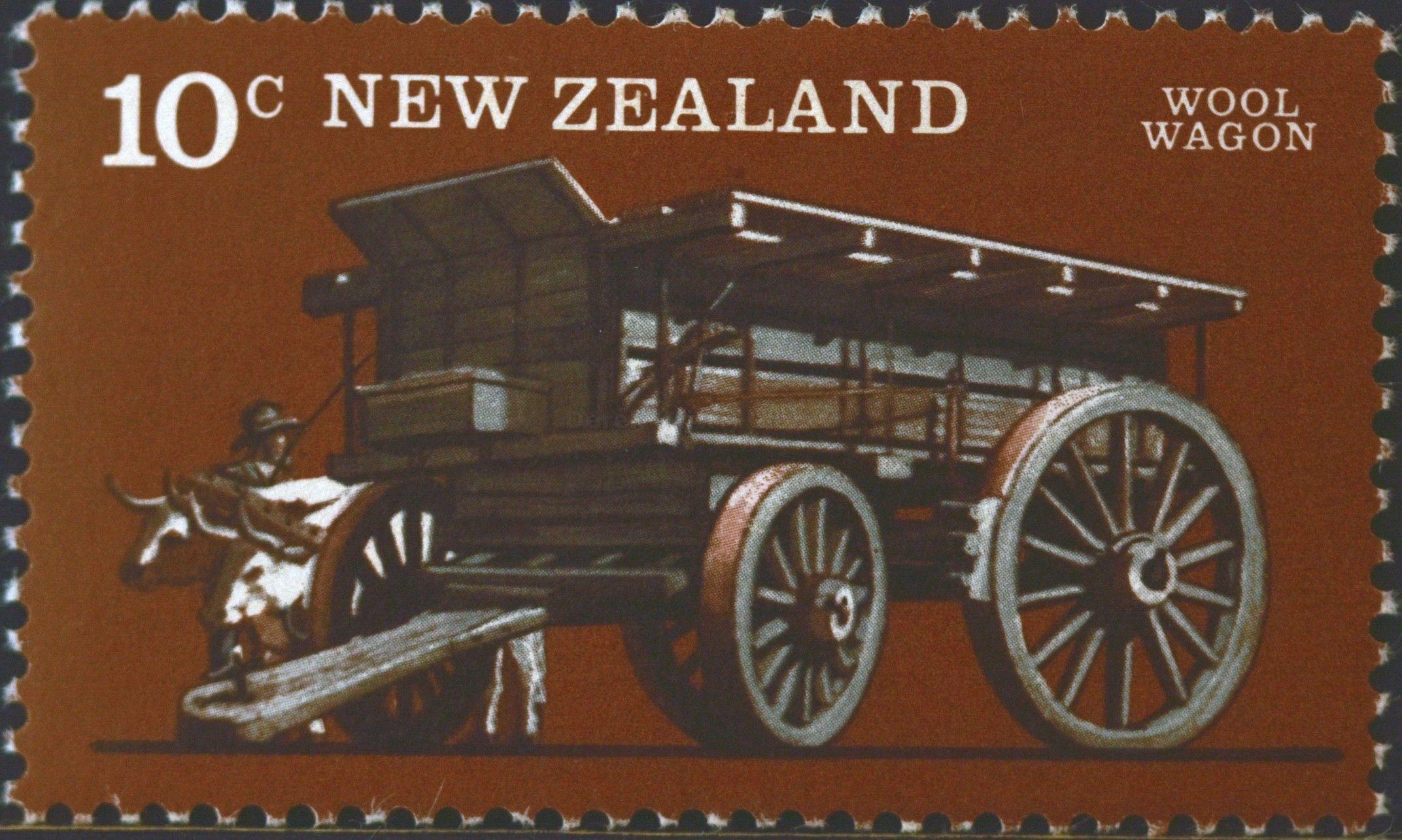 New Zealand (767) 1976 Vintage Farm Transport (con