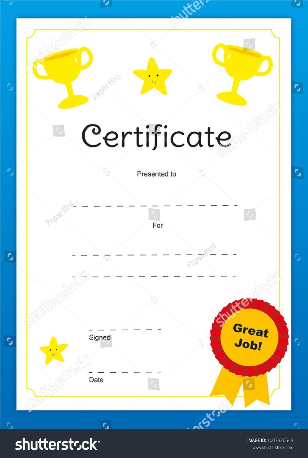 Good Job Certificates Toha for Good Job Certificate