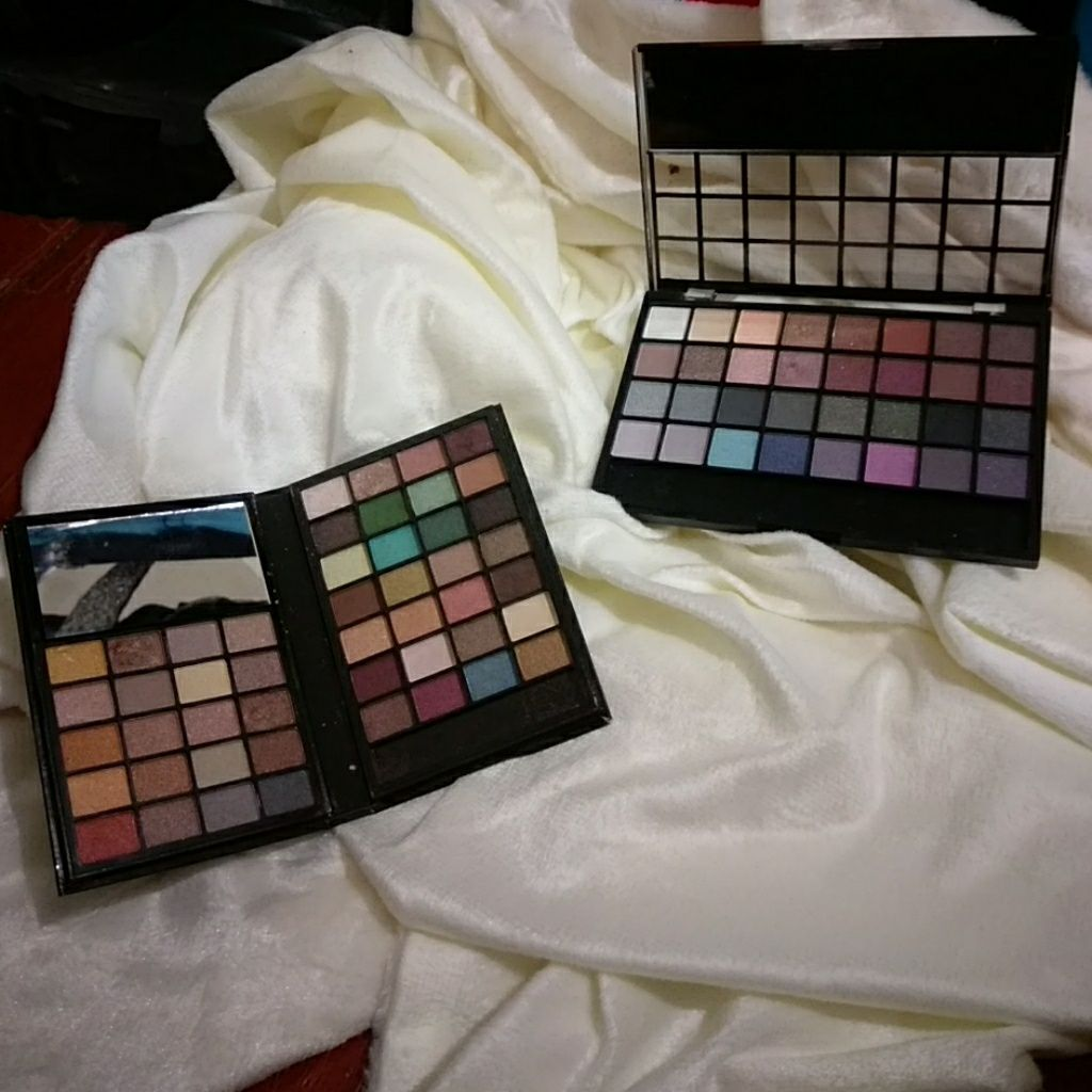 Two Elf Eyeshadow Palettes Elf eyeshadow palette and Products
