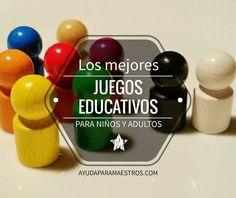 Ayuda Para Maestros Los Mejores Juegos Educativos Para Ninos Y