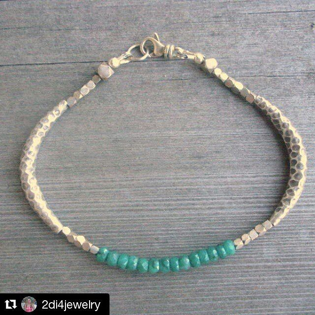 #Repost @2di4jewelry  Sadly in the artist community there will always be people that copy designs. What's even worse though is being falsely accused by someone trying to take out the competition for an item that isn't even similar. @twofeathersny Filing a false DMCA is a serious legal offense. If you are unsure of the law consult an attorney.  This emerald & hill tribe sterling silver bracelet is my original design. It will be re listed in my etsy shop in 10 days. #silversmith #2di4jewelry…