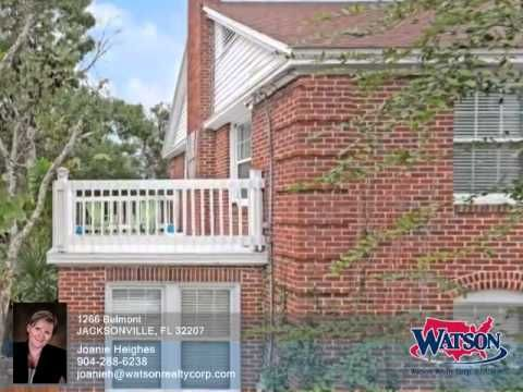 Homes for Sale - 1266 Belmont JACKSONVILLE FL 32207 - Joanie Heighes