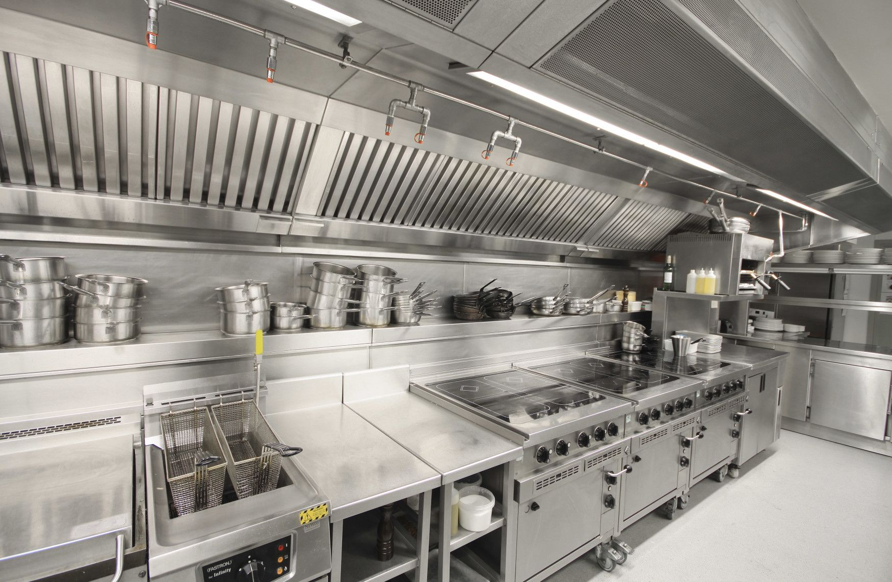 Commercial Exhaust And Hood Cleaning In New York City Restaurant Kitchen Design Restaurant Kitchen Equipment Commercial Kitchen Design