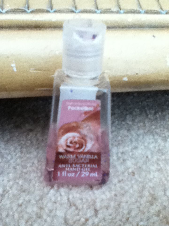 Warm Vanilla Sugar Bath Body Works Hand Sanitizer Bath Body