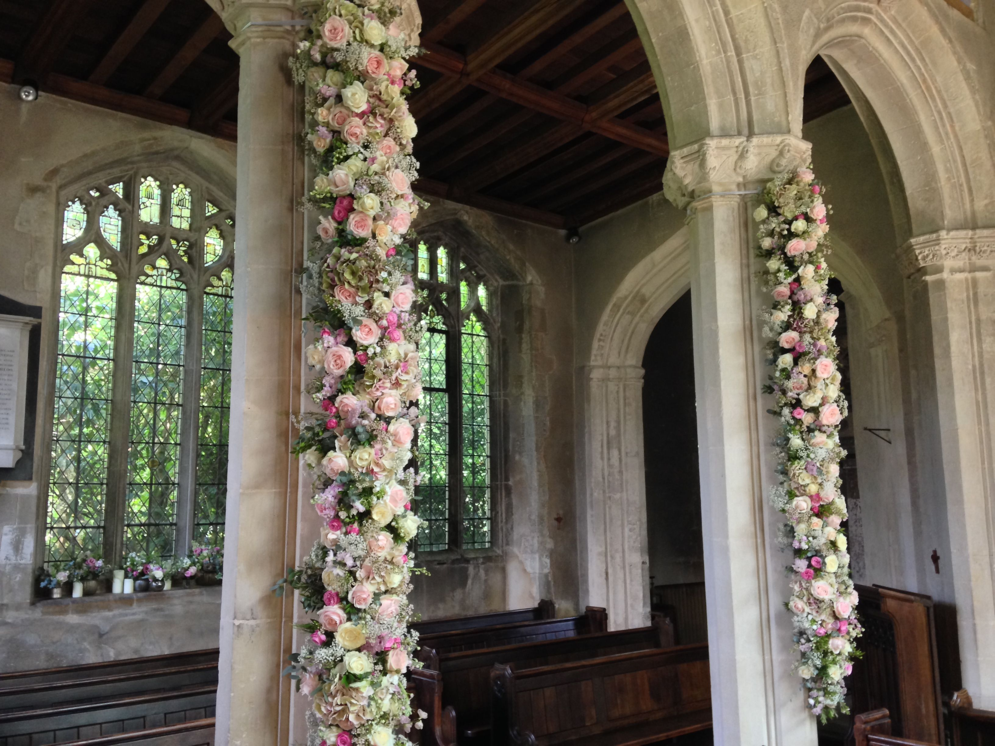 Pin by marina charitopoulou design on garlands pinterest tudor discover ideas about wedding church junglespirit Images