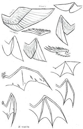 How To Draw Anime Wolf Ears And Tail Google Search Dragon Drawing Wings Drawing Anime Drawings Tutorials