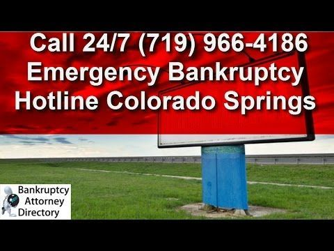 bankruptcy attorney colorado springs colorado