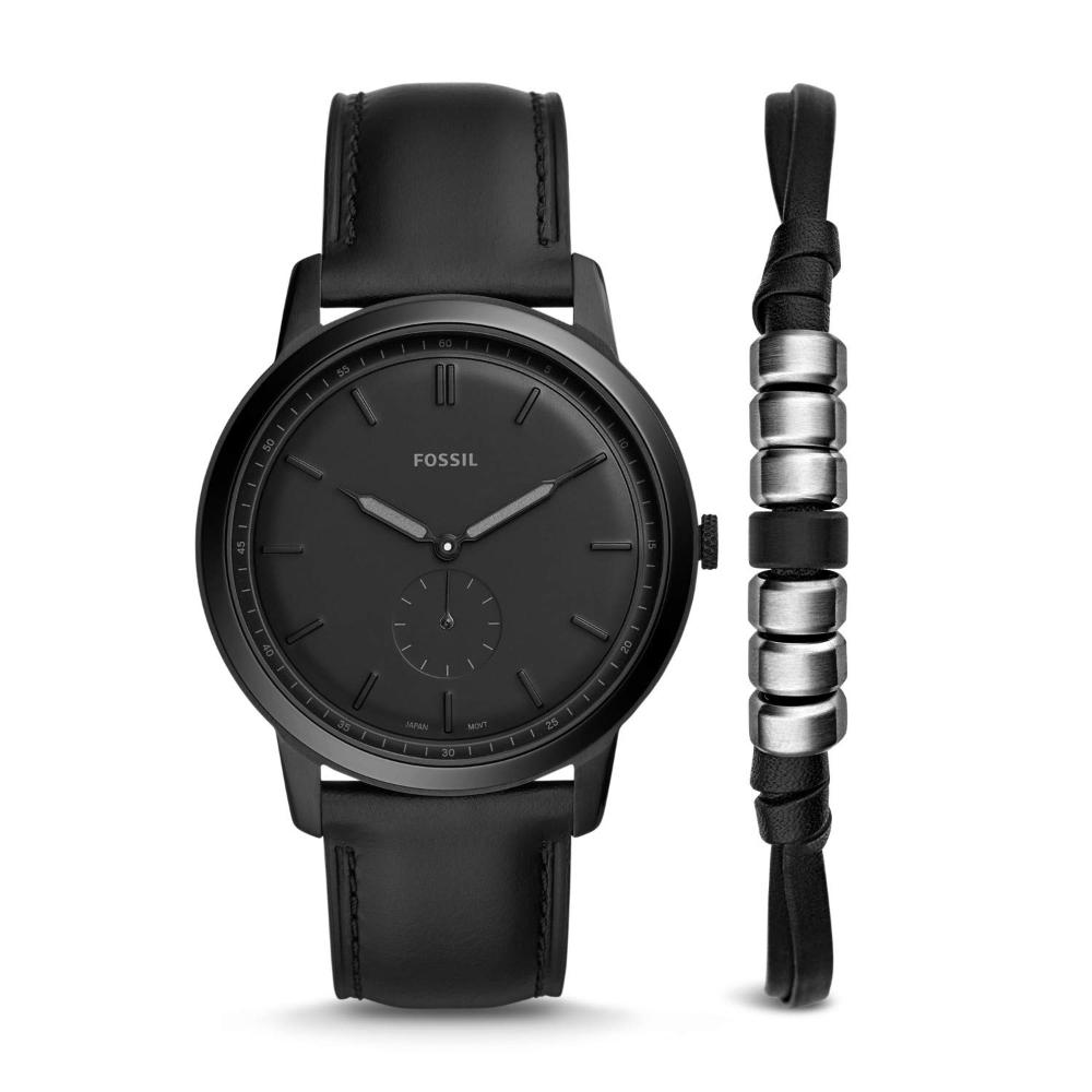 Fossil Reloj Analogico Para Hombre De Cuarzo Con Correa En Cuero Fs5500set Amazon Es Relojes En 2020 Relojes De Cuero Para Hombres Relojes De Cuero Reloj