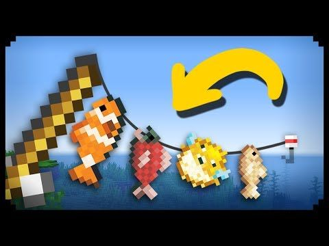 Minecraft How To Make An Afk Fishing Farm Youtube Minecraft Projects Minecraft Fish