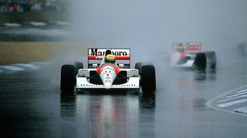1991, LVI Australian Grand Prix Adelaida Ayrton Senna seguido de