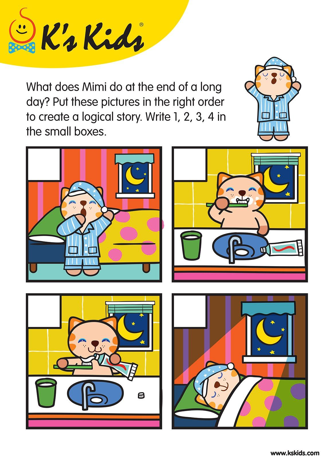 Storysequence L3 03 Pk Worksheets Pinterest