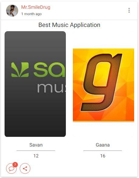 Music has healing power. It has the ability to take people out of themselves for a few hours.  So which Application healing you in a regular life? #saavn / #Gaana  Give Your Opinion Here: https://goo.gl/6x0ew3