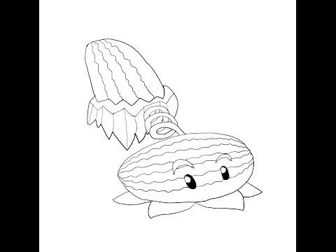Inspirational Plants Vs Zombies Coloring Pages 79 plants vs zombies coloring