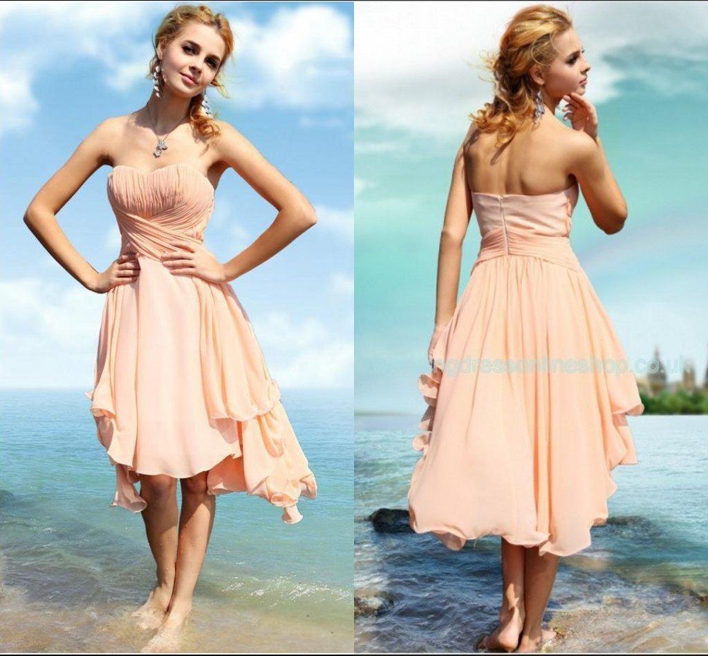 100+ Short Bridesmaid Dresses for Beach Wedding - Wedding Dresses ...