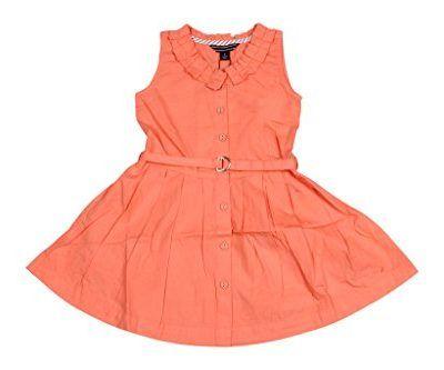 9c9d7947691c Twist Girls Kids Solid Cotton Partywear Casual Frocks Dresses ...