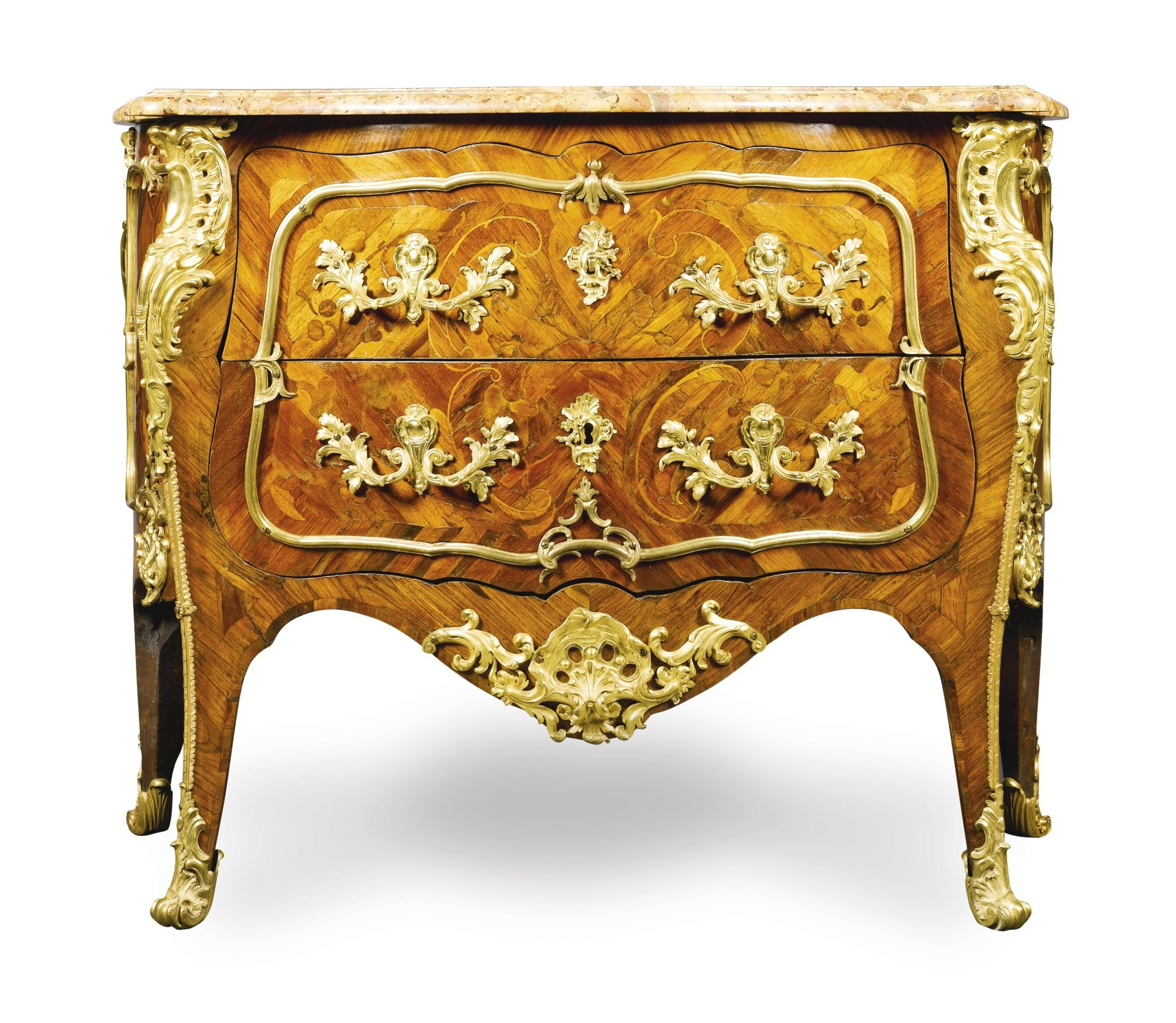 Meubles Anciennes En France Kingwood And Marquetry Commode Louis Xv Circa 1740 Meubles
