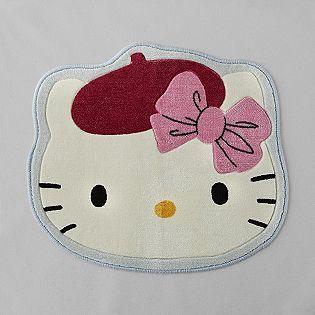 Sarah S Choice Bonjour Hello Kitty Bath Rug Hello