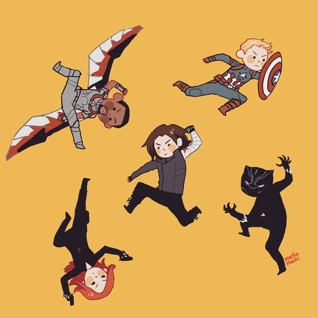 Cute Cap Bucky Iphone Wallpaper Pin By Megan Gamez On Superheroes Comics Nerd Marvel