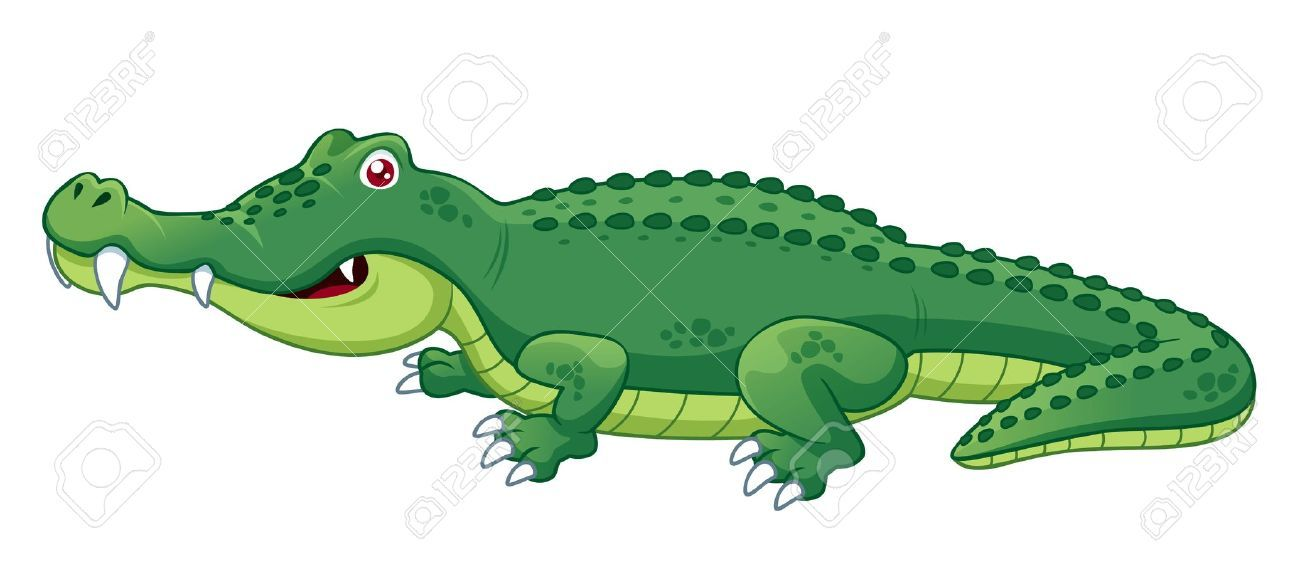 15456235 Illustration Of Crocodile Stock Vector Crocodile