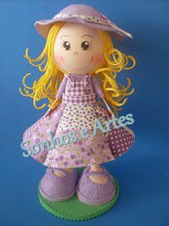bambolina colorata