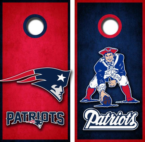 new england patriots cornhole board wrap set by on etsy httpswww - Cornhole Board Wraps
