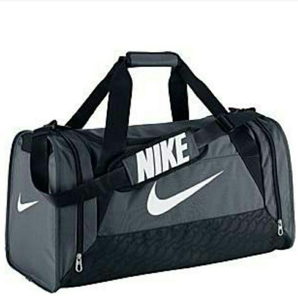571897f4cd4 Details about Nike Brasilia 6 XS Small Medium Large Duffel Gym Bag Navy  Black Grey Gray Duffle   Backpacks and Duffels for Men, Women, Boys & Girls    Nike ...
