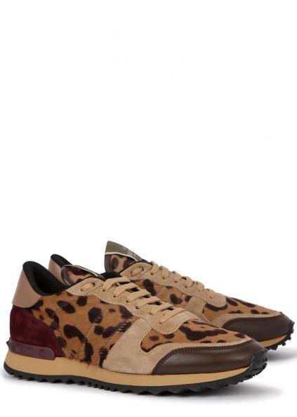 Valentino Leopard-print calf hair