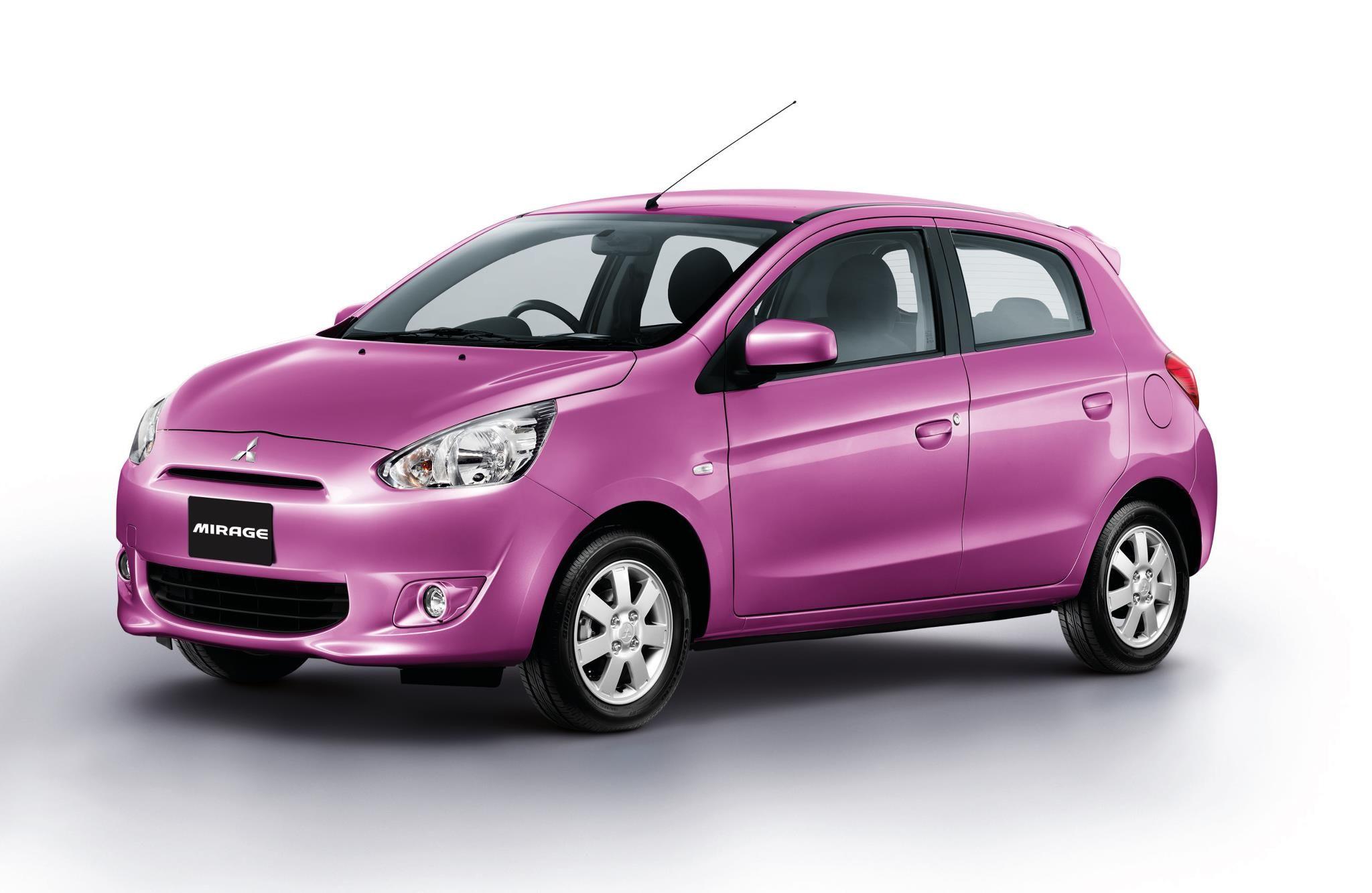 Mitsubishi Mirage Bloom Edition - Small Cars Wallpapers