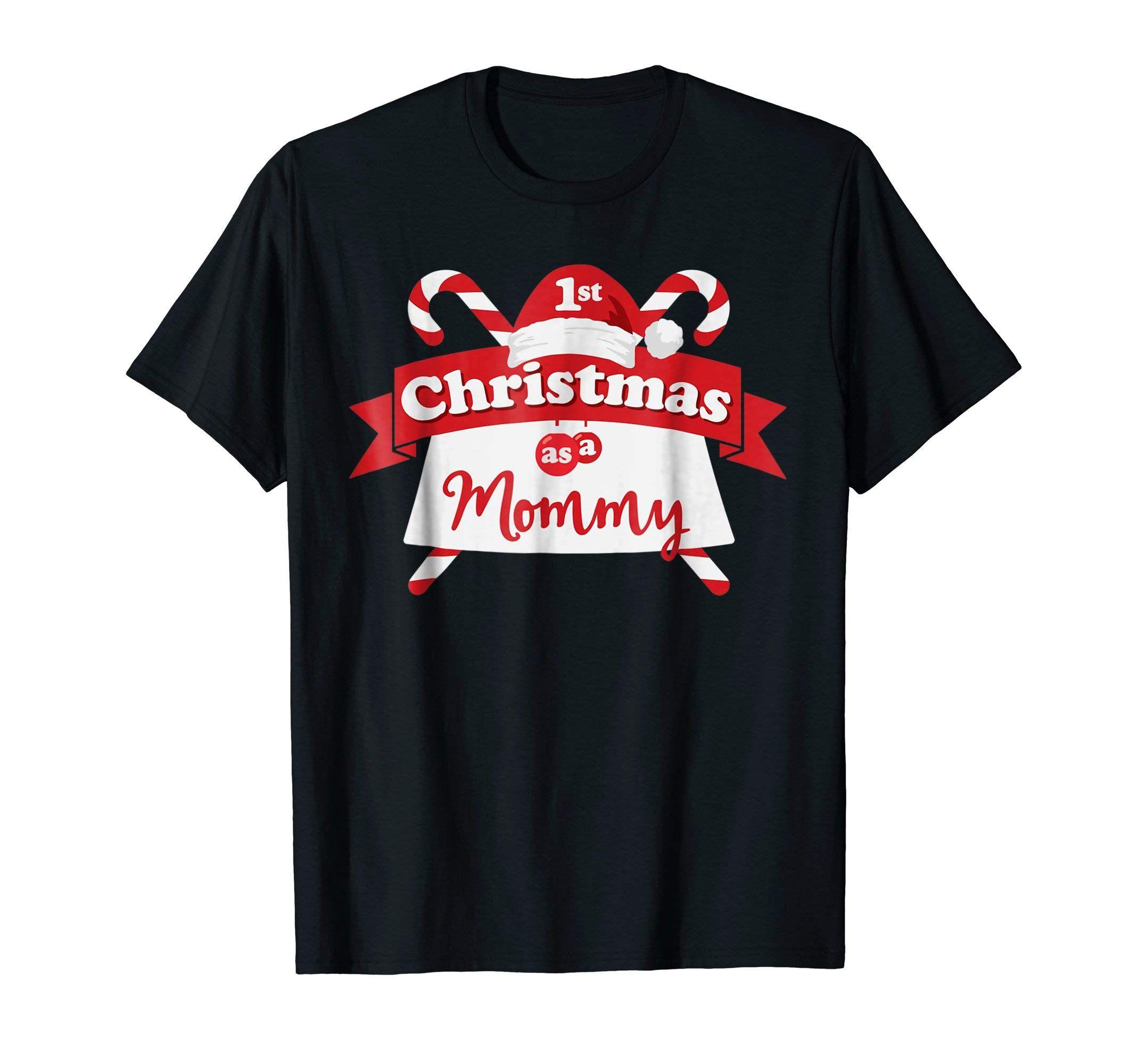 Babys first christmas gift for mom christmas shirt be
