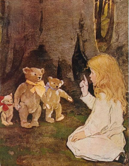 Goldilocks and the Three Bears, Jessie Willcox Smith, 1908