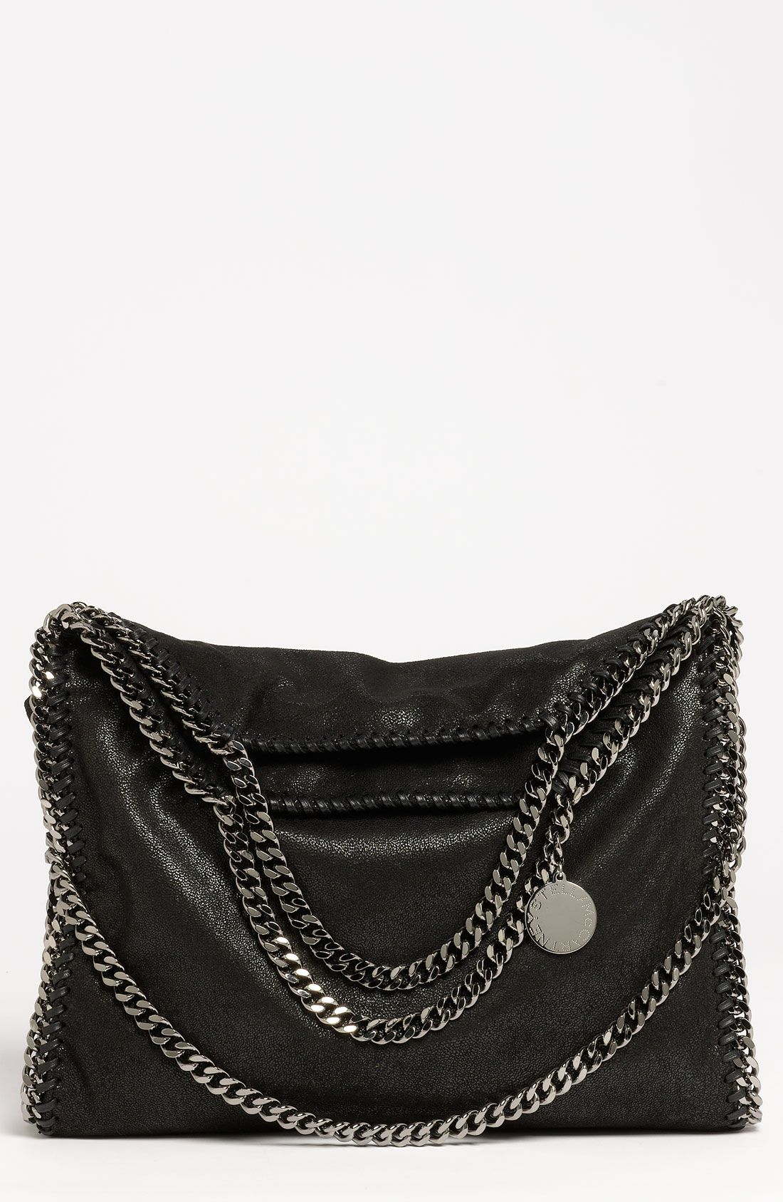 e367acf430f9 Stella McCartney  Falabella - Shaggy Deer  Faux Leather Foldover Tote