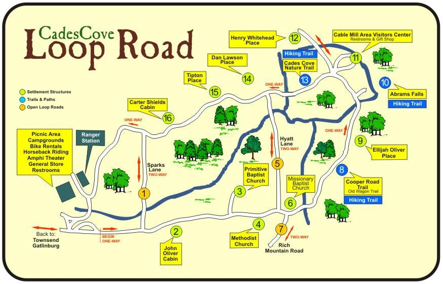 On 9 13 14 I biked the Cades Cove Loop Road! (11 miles) It was