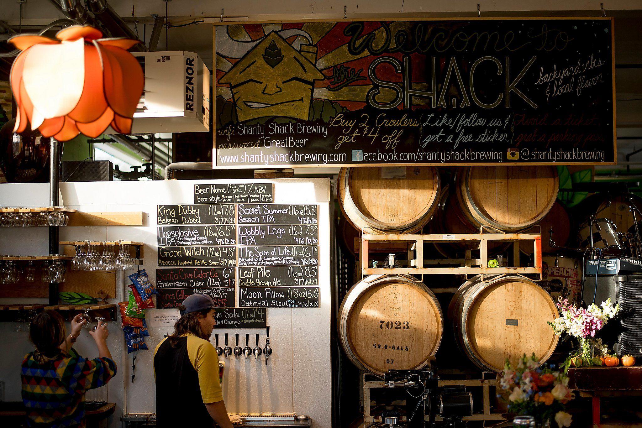 7 Santa Cruz Brewpubs Pouring The Strangest Beers Beer Local Beer Tap Room