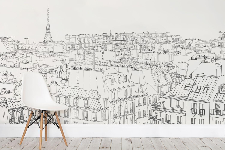 Paris Rooftops Wall Mural Wiring Diagrams