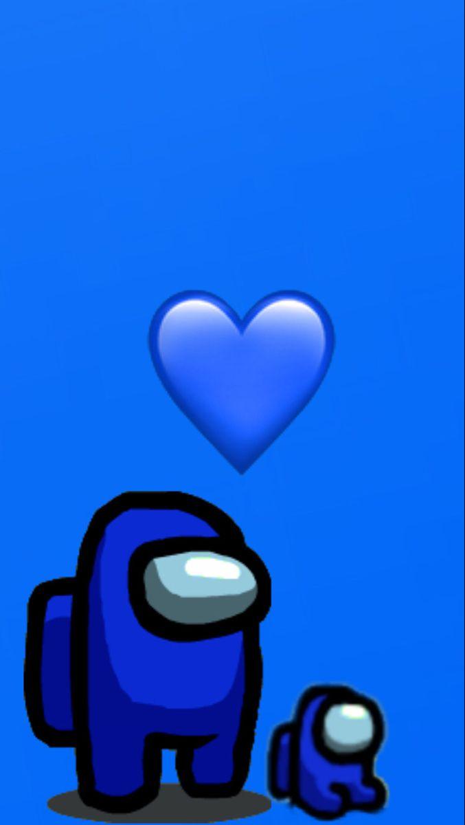 Dark Blue Among Us Dark Blue Wallpaper Blue Emoji Dark Blue Background