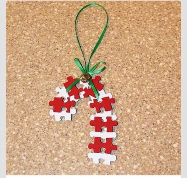 Cute Christmas Crafts For Kids Crafts Pinterest Craft, Puzzle