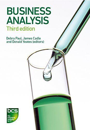 Business Analysis by James Cadleu2026 Business Analysis - Books - business analysis