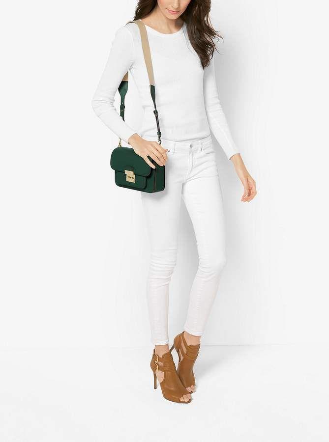 2b1513d3d20d MICHAEL Michael Kors Sloan Editor Leather Shoulder Bag   Products ...