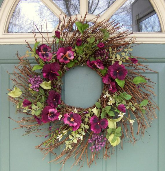 Spring Wreath cute for my front door!
