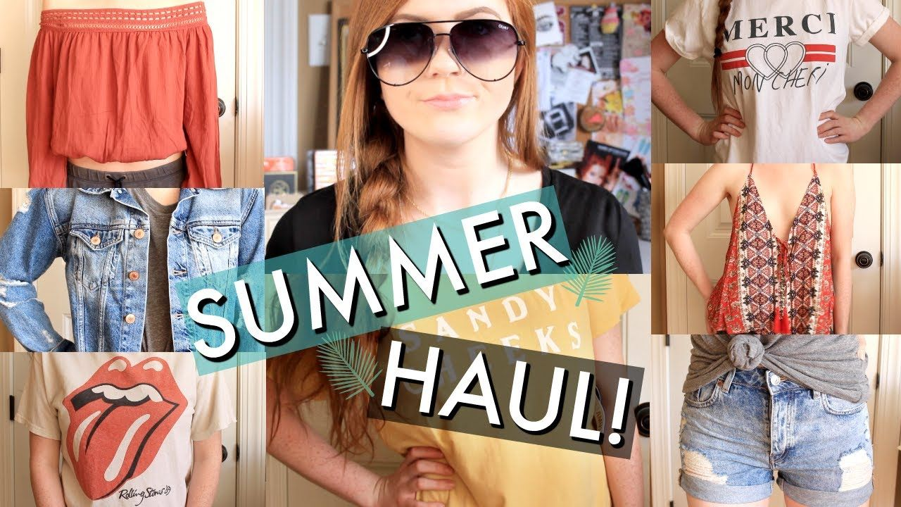 Summer Try On Clothing Haul Super Cute Affordable Pieces From Forever 21 Hm Toyshop Lulus More Go To Youtube Com Kristenpkelley To Watch