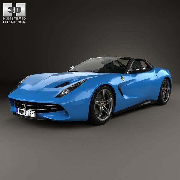 Ferrari F60 America 2015 3d model from humster3d.com ...