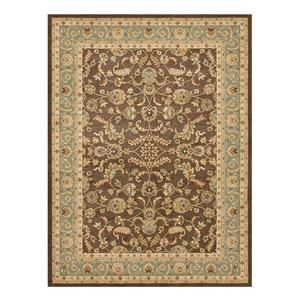 Stanley St 11 5 2 X 7 7 Brown Blue Area Rug Nebraska Furniture
