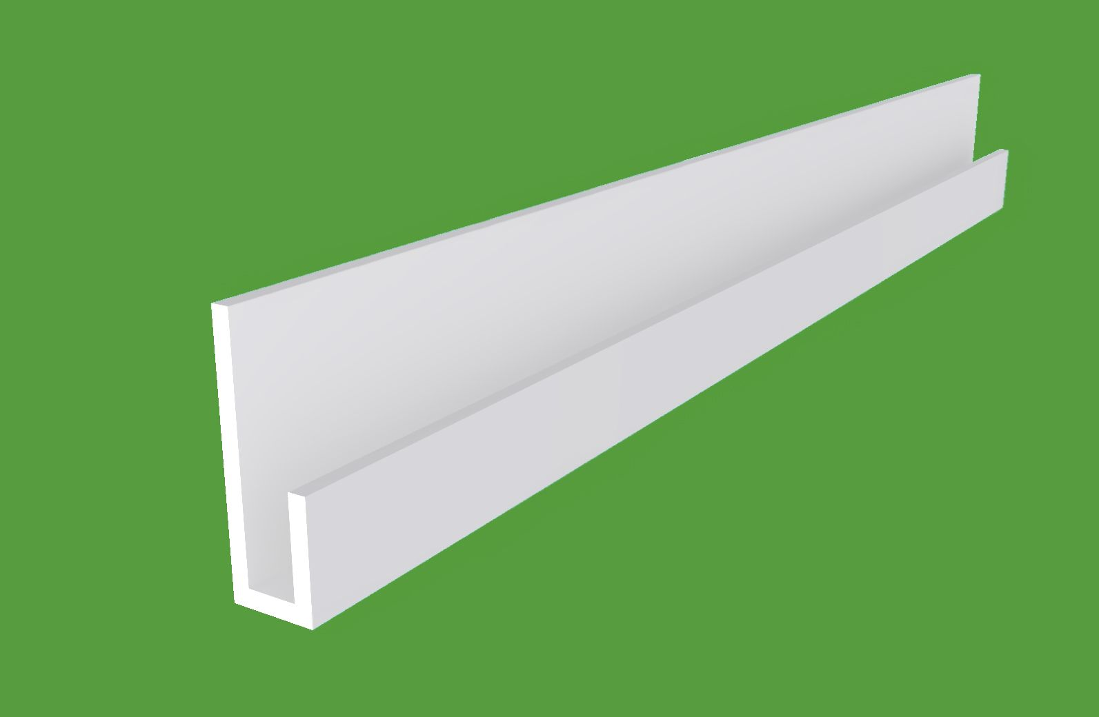 Plastic Channel J Extrusion Pvc Trim For Edge Protection And