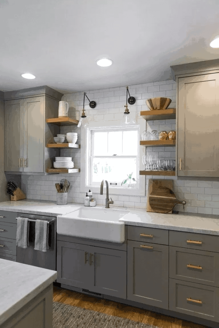 25 Great Small Kitchen Ideas That Can Inspire You Enthusiasthome Kitchen Remodel Small Diy Kitchen Renovation Kitchen Design Small