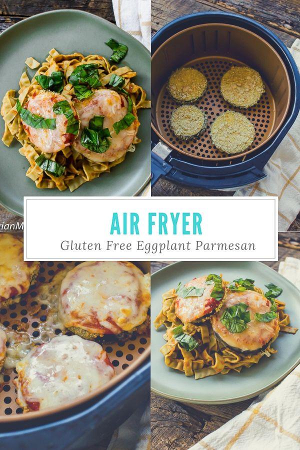 Gluten Free Air Fryer Eggplant Parmesan Recipe Air