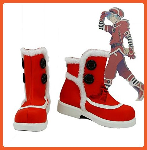 Dramatical Murder DMMD Seragaki Aoba Cosplay Shoes Boots Custom Made Christmas Clothes